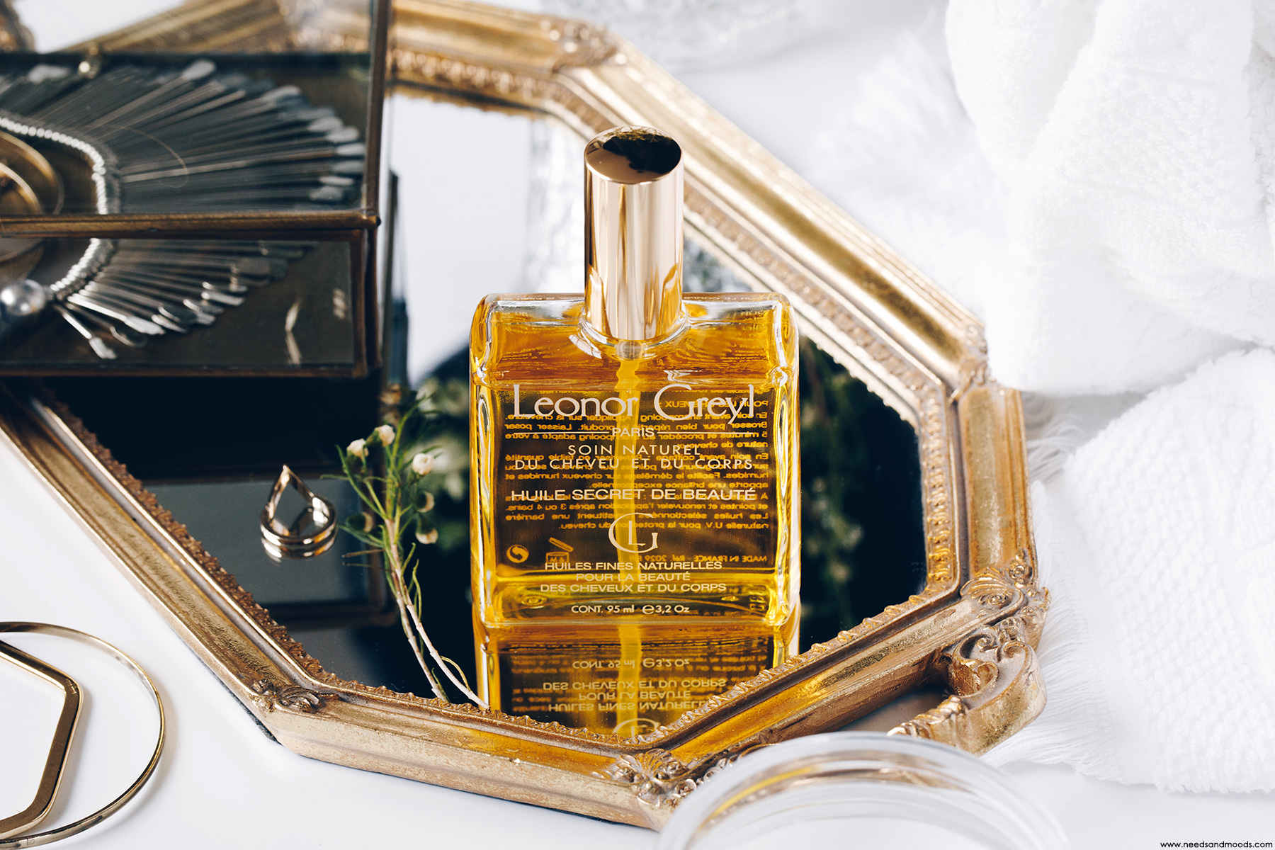 leonor greyl huile secret beaute