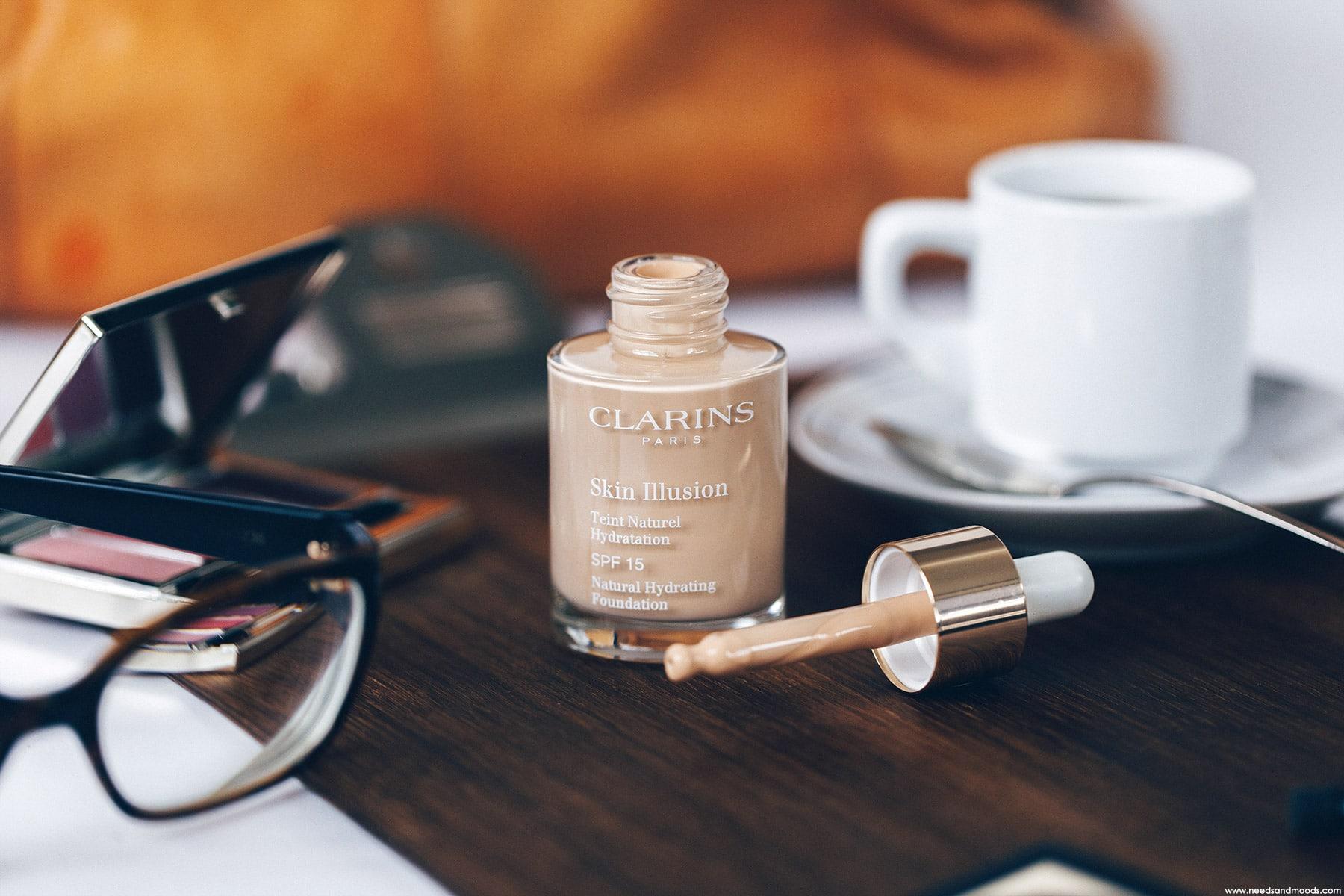 skin illusion clarins