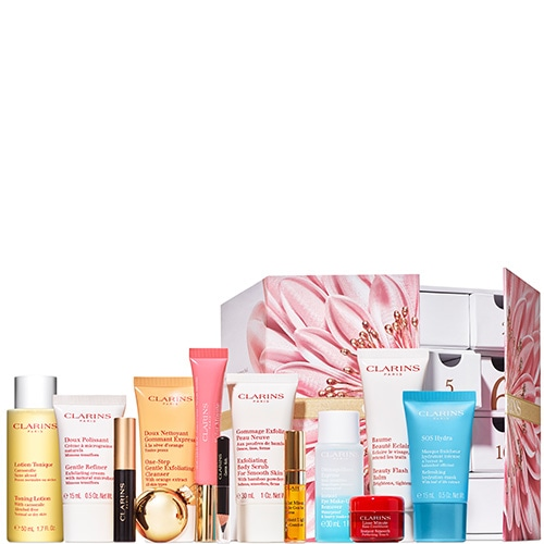 clarins calendrier avent 2018