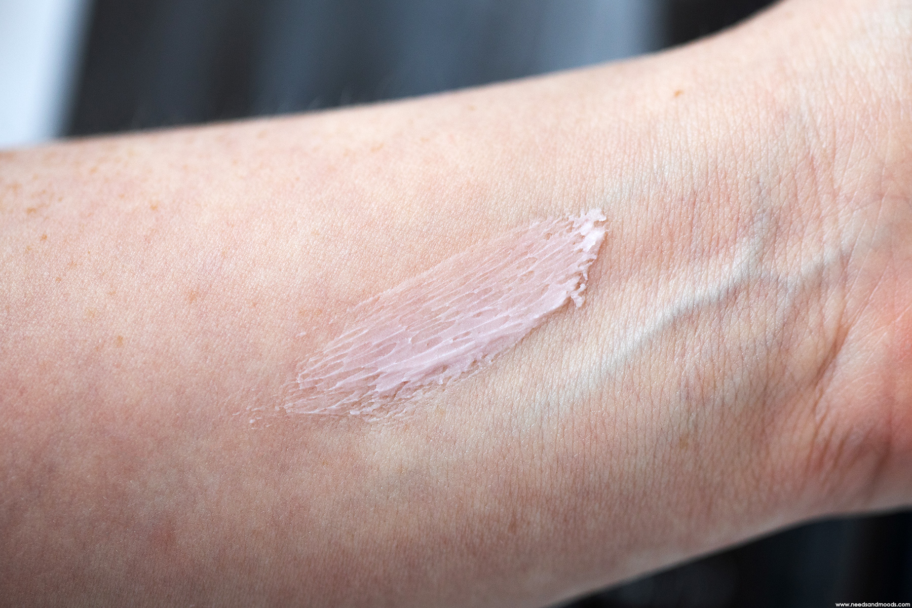 clarins lisse minute swatch