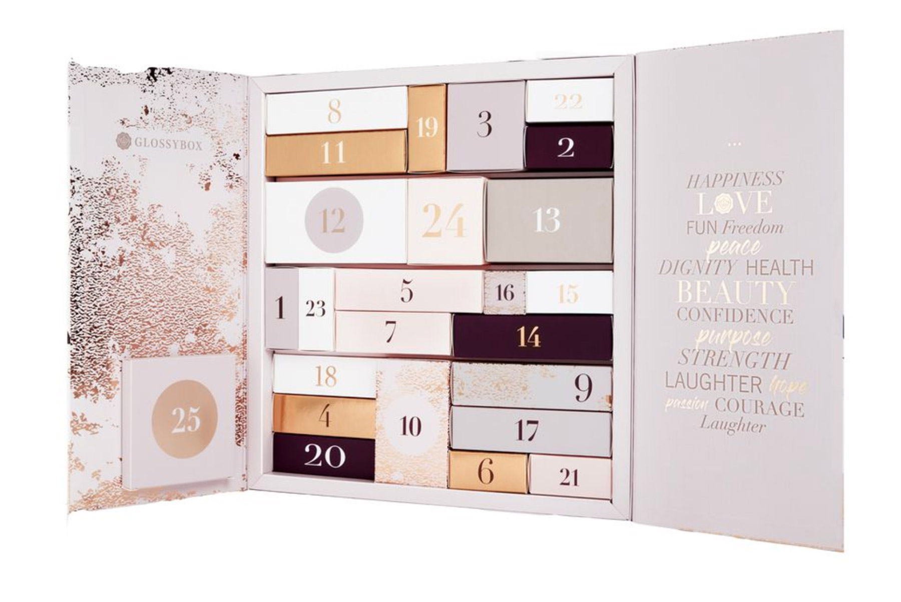 glossybox-calendrier-avent-beaute-2018