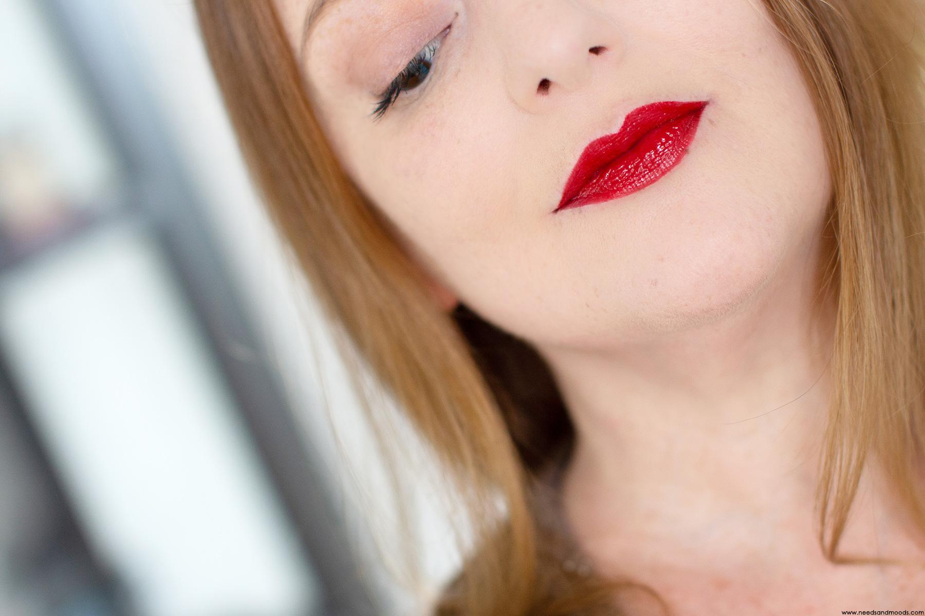 sephora cream lip shine redpotion swatch