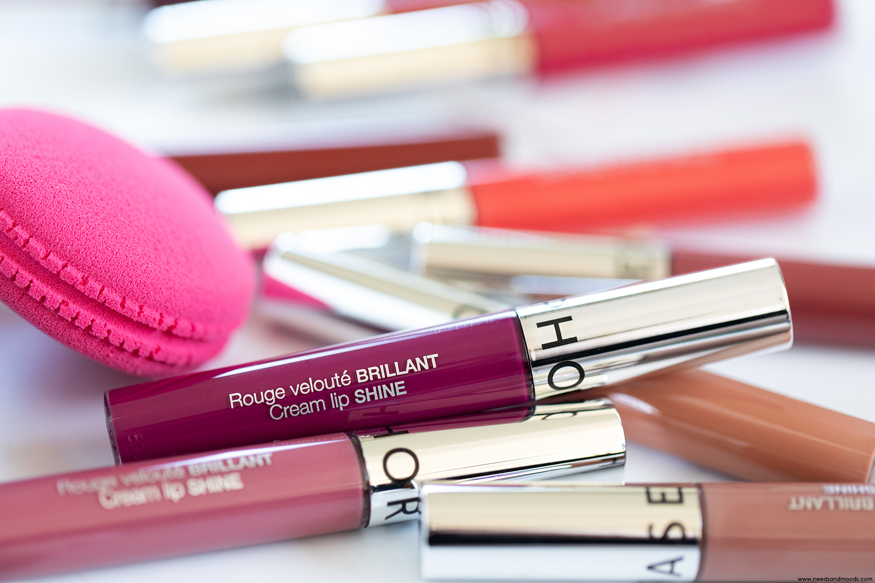 sephora cream lip shine rouge veloute brillant