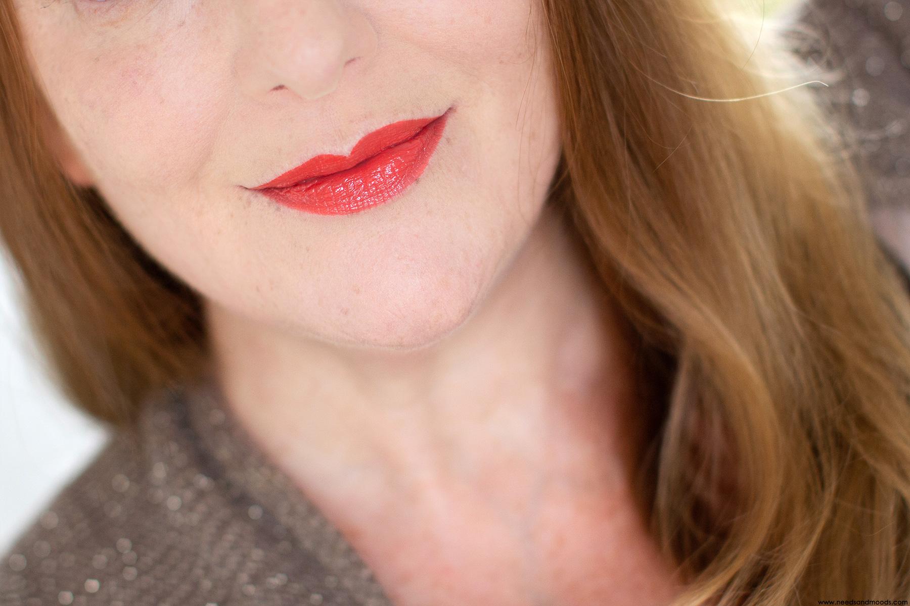 sephora cream lip shine sunshine pink swatch