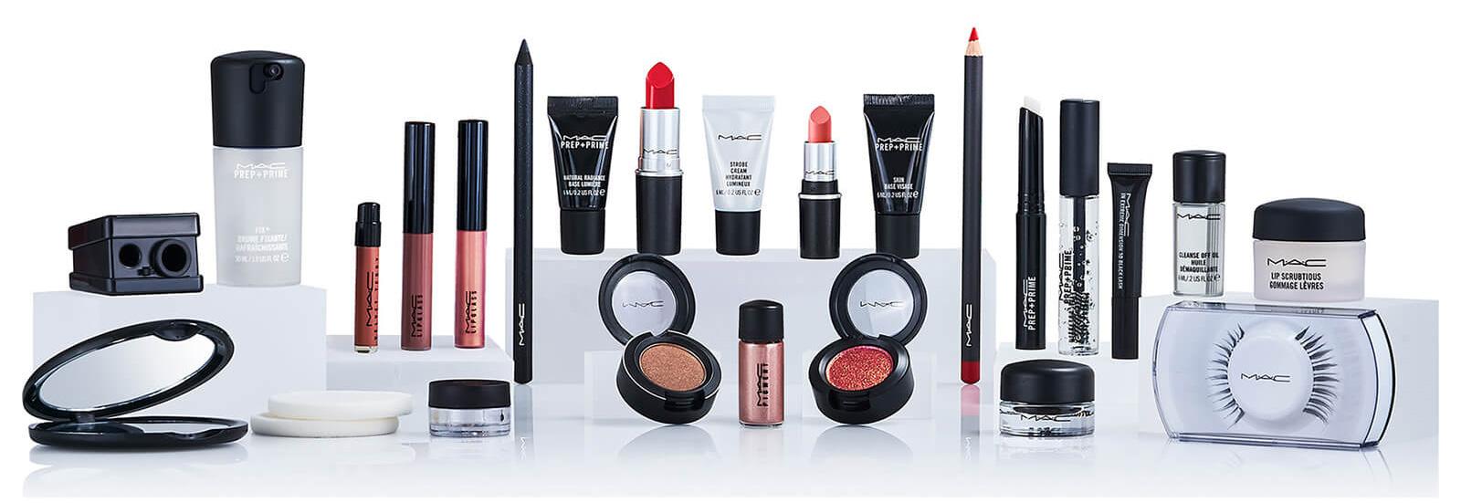 calendrier-avent-mac-cosmetics-contenu