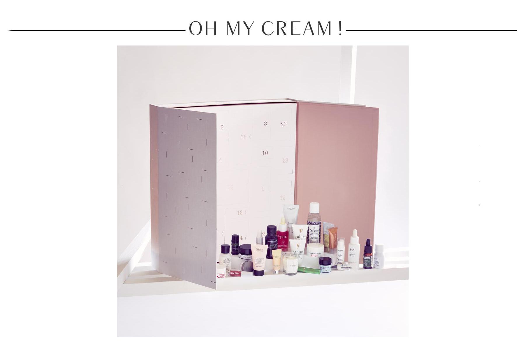 calendrier-avent-oh-my-cream-2018-contenu