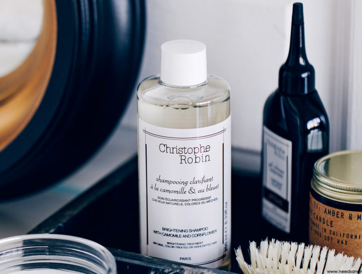 christophe robin shampooing clarifiant camomille bleuet avis