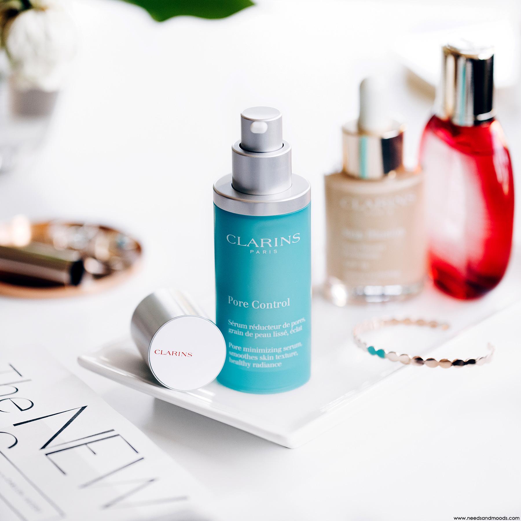 clarins serum pore control