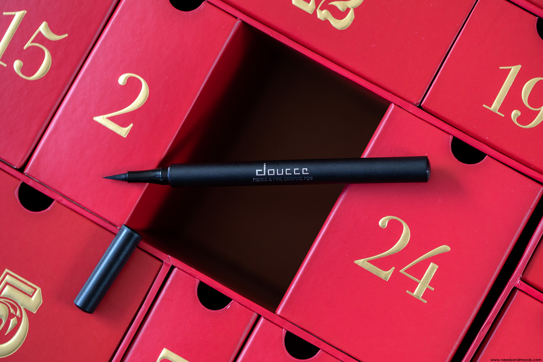 lookfantastic calendrier avent 2018 eyeliner doucce