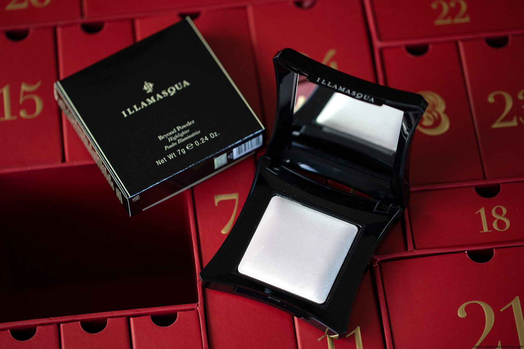 lookfantastic calendrier avent 2018 highlighter illamasqua