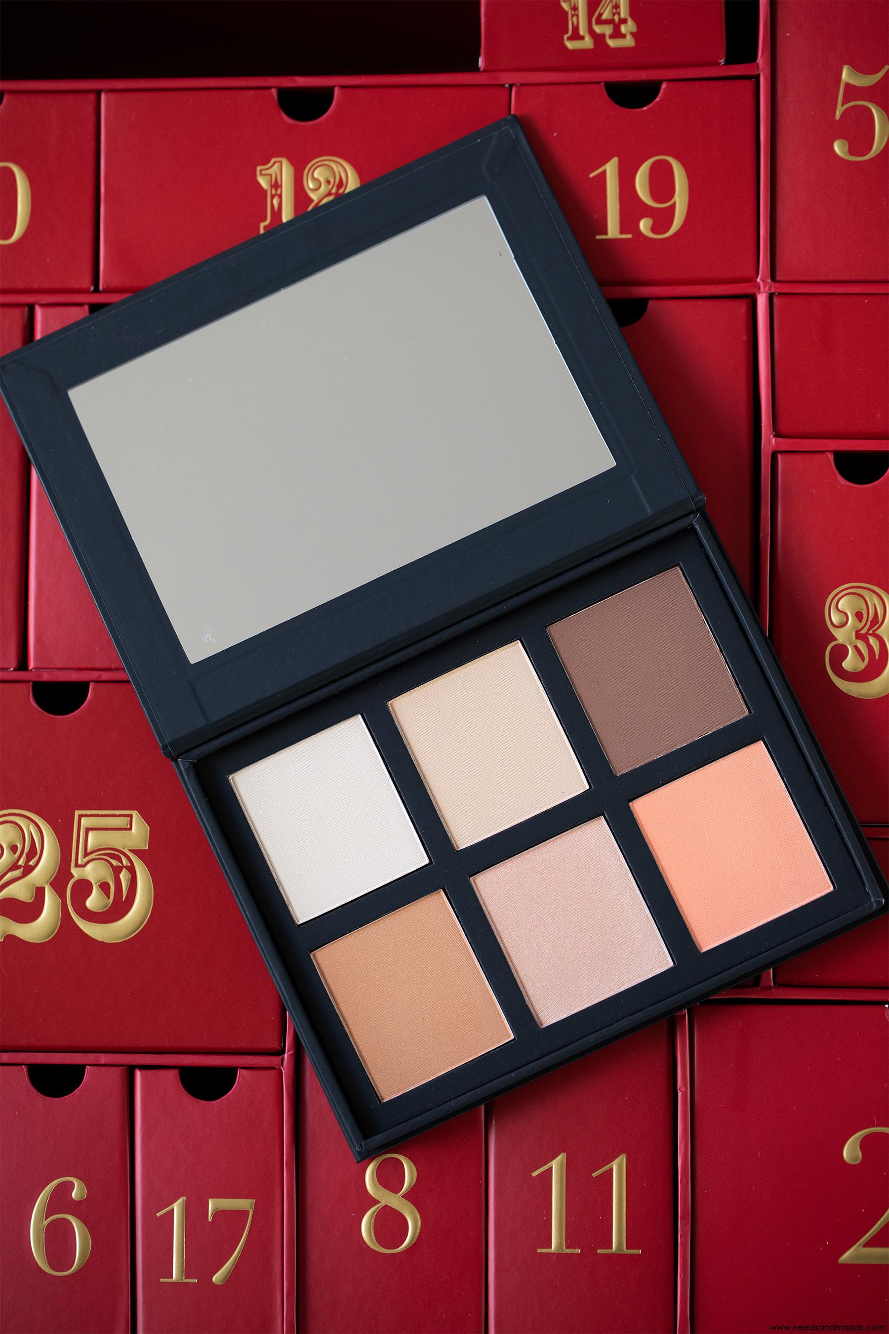 lookfantastic calendrier avent 2018 palette makeup