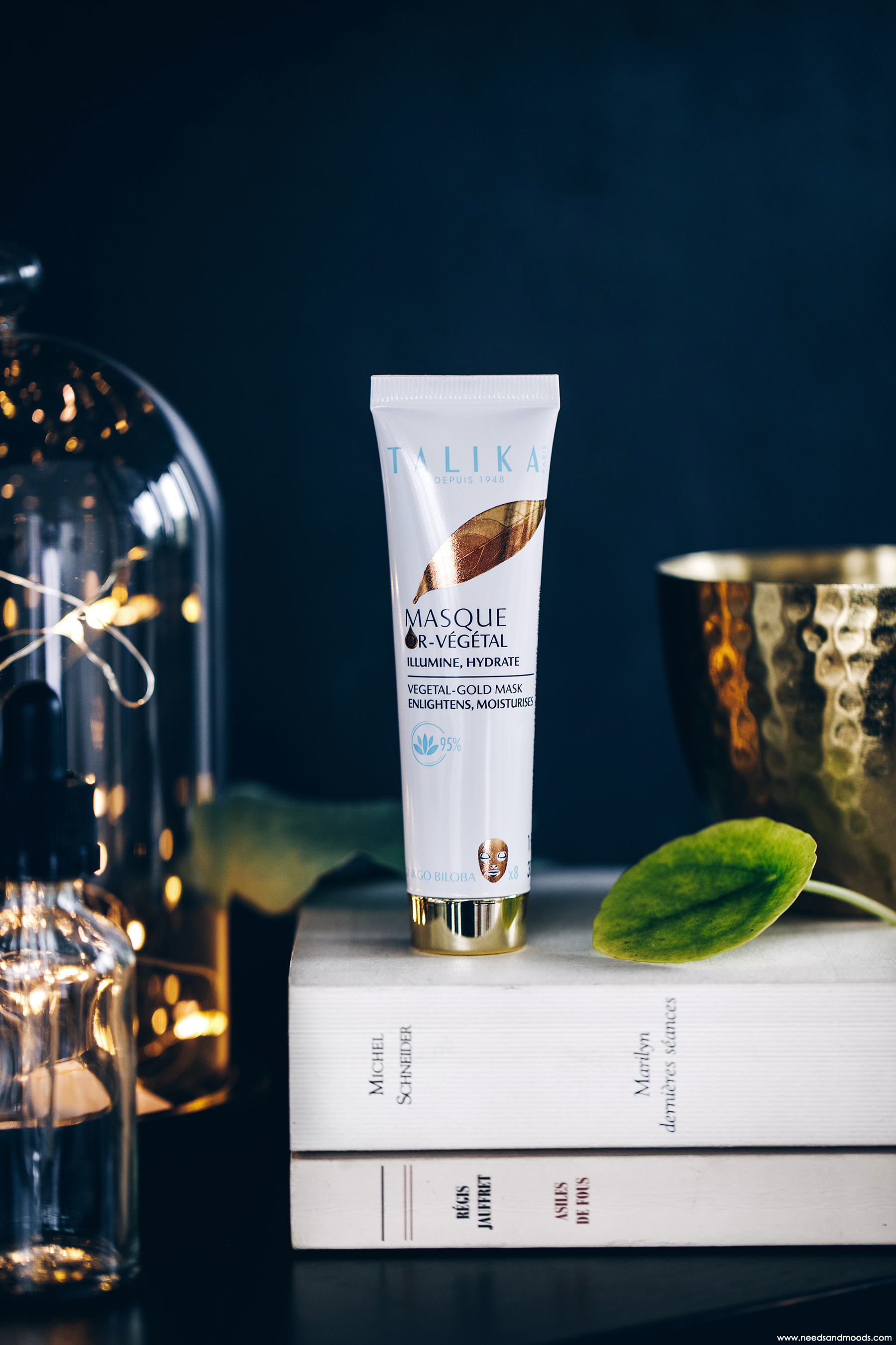 masque or vegetal talika avis test