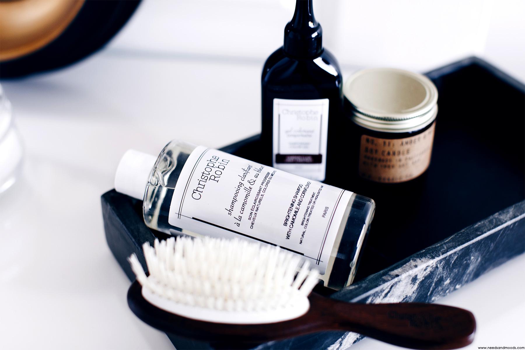shampooing clarifiant camomille bleuet christophe robin avis