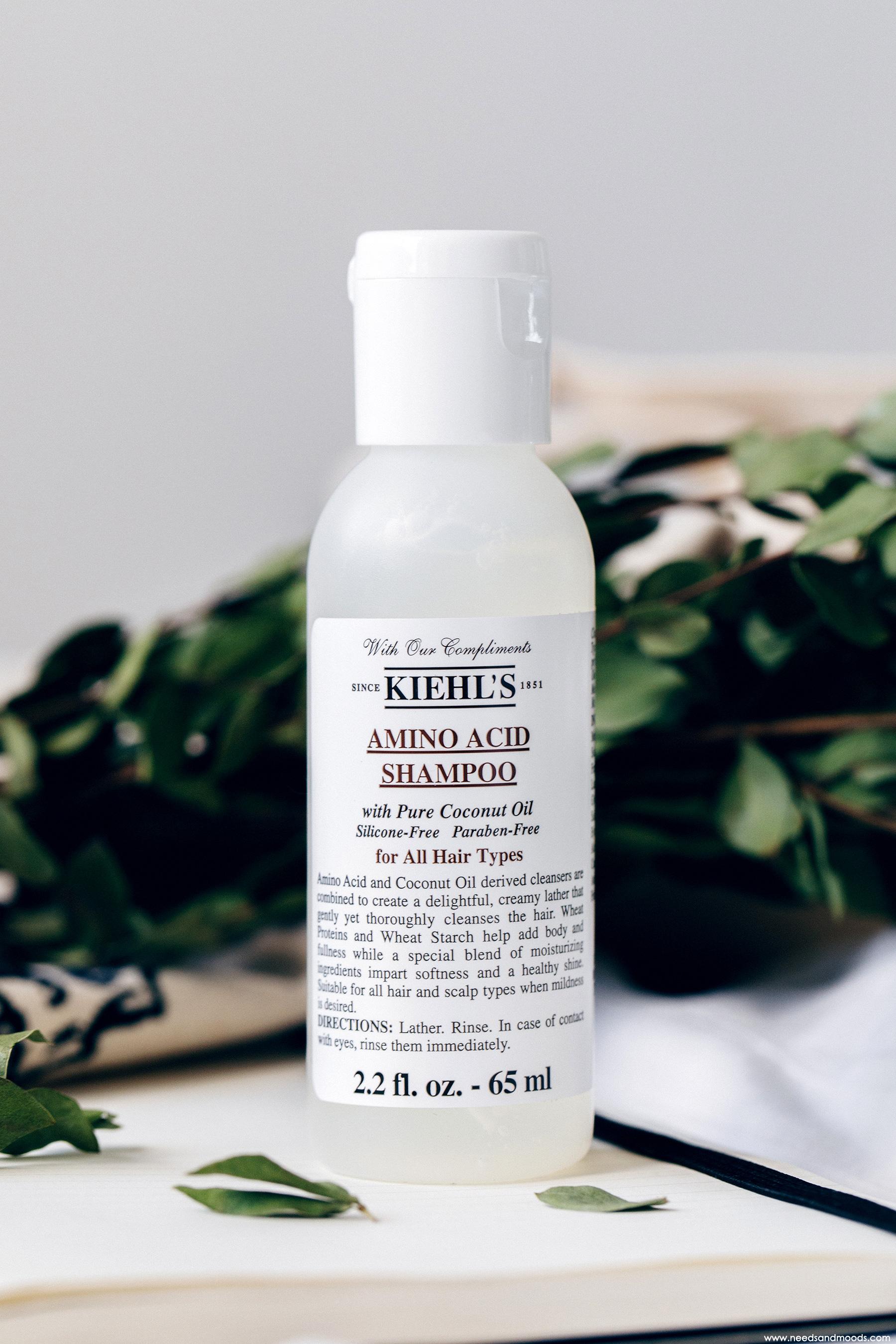 calendrier avent kiehls 2018 amino acid shampoo