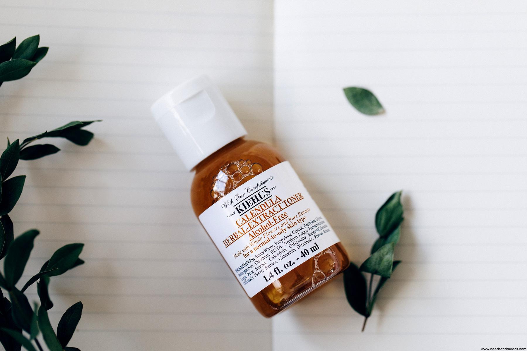calendrier avent kiehls 2018 calendula herbal extract toner
