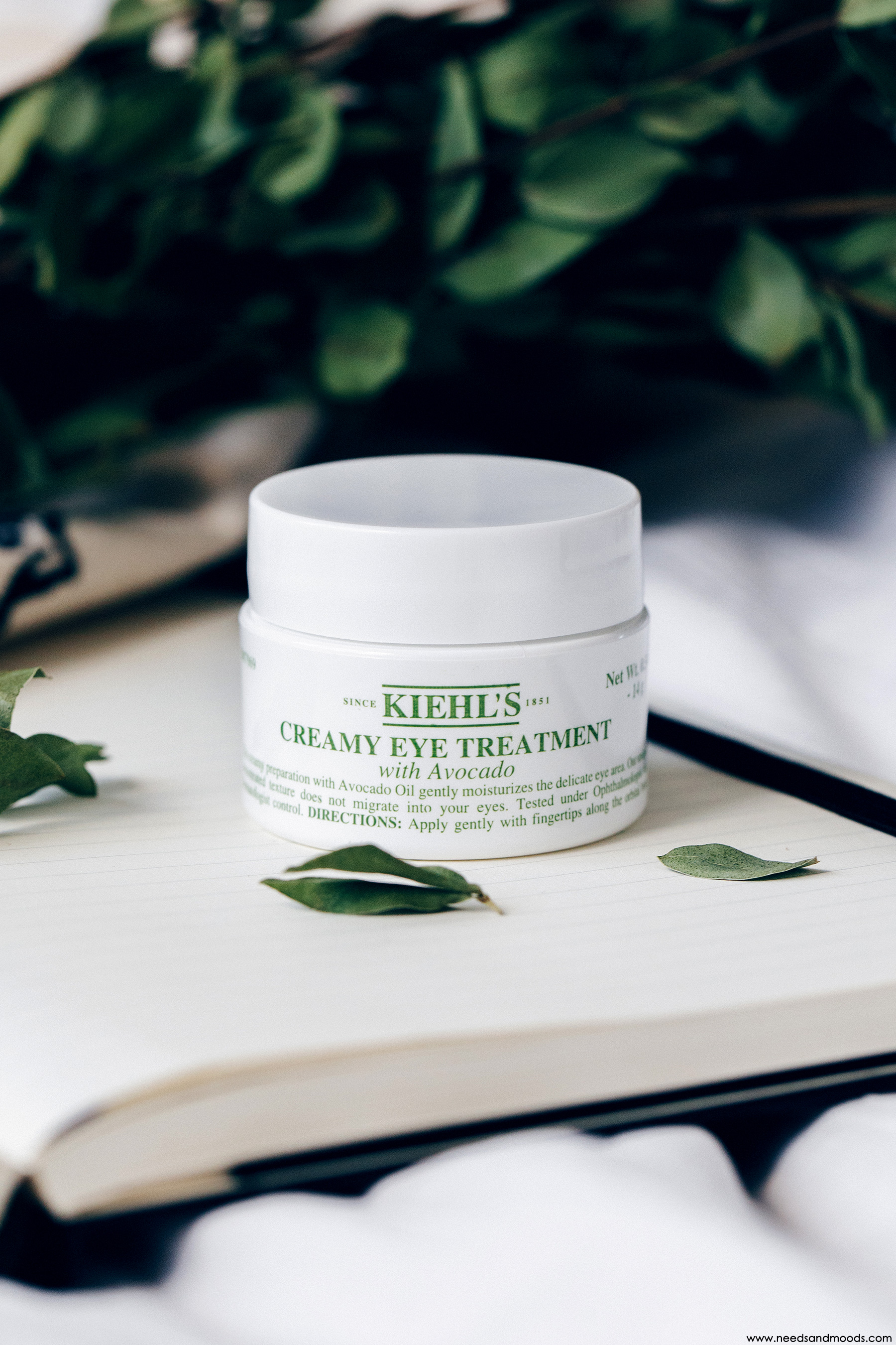 calendrier avent kiehls 2018 creamy eye treatment