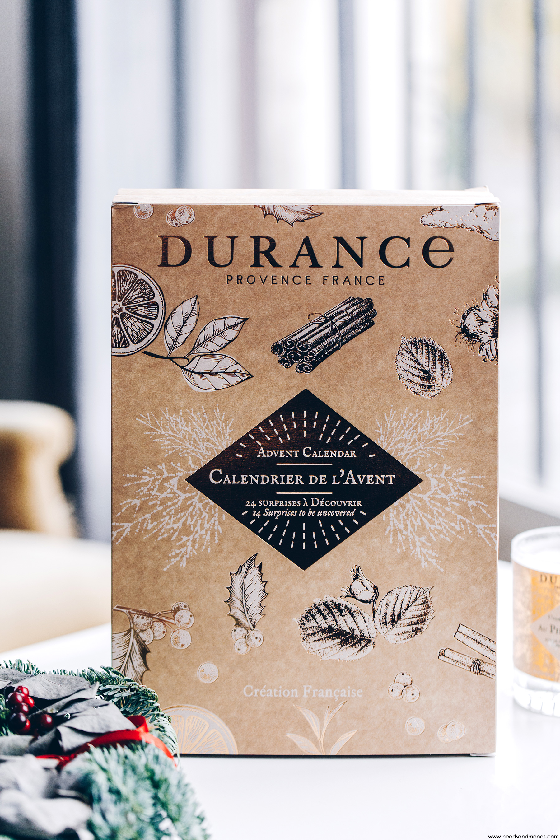 durance calendrier avent