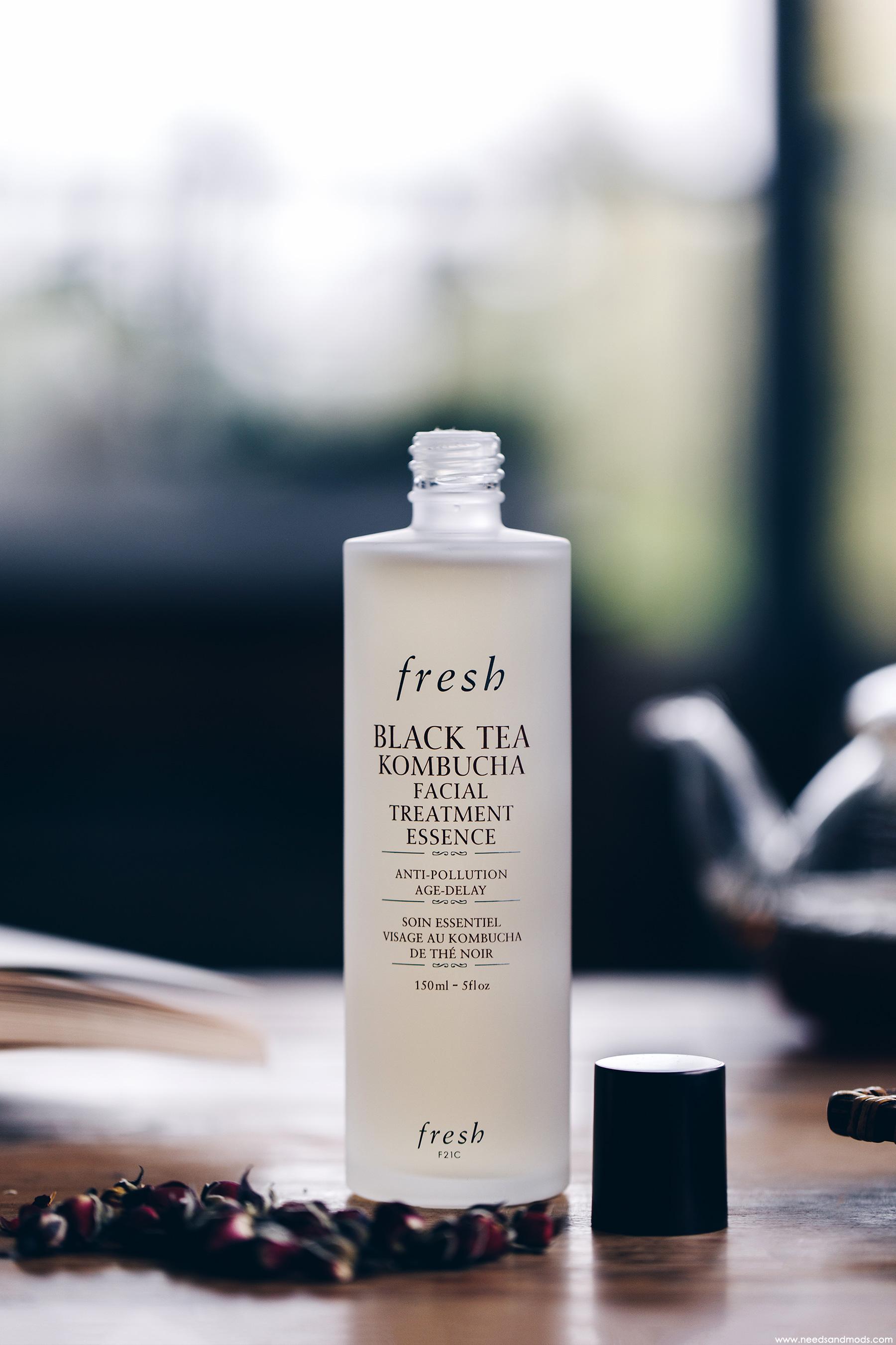 fresh beauty lotion thé noir kombucha