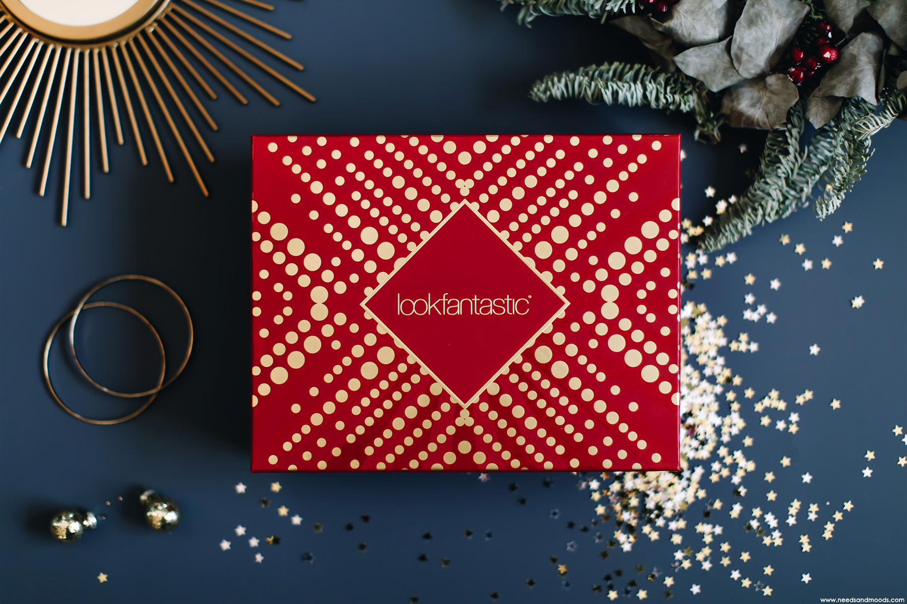 lookfantastic box decembre 2018