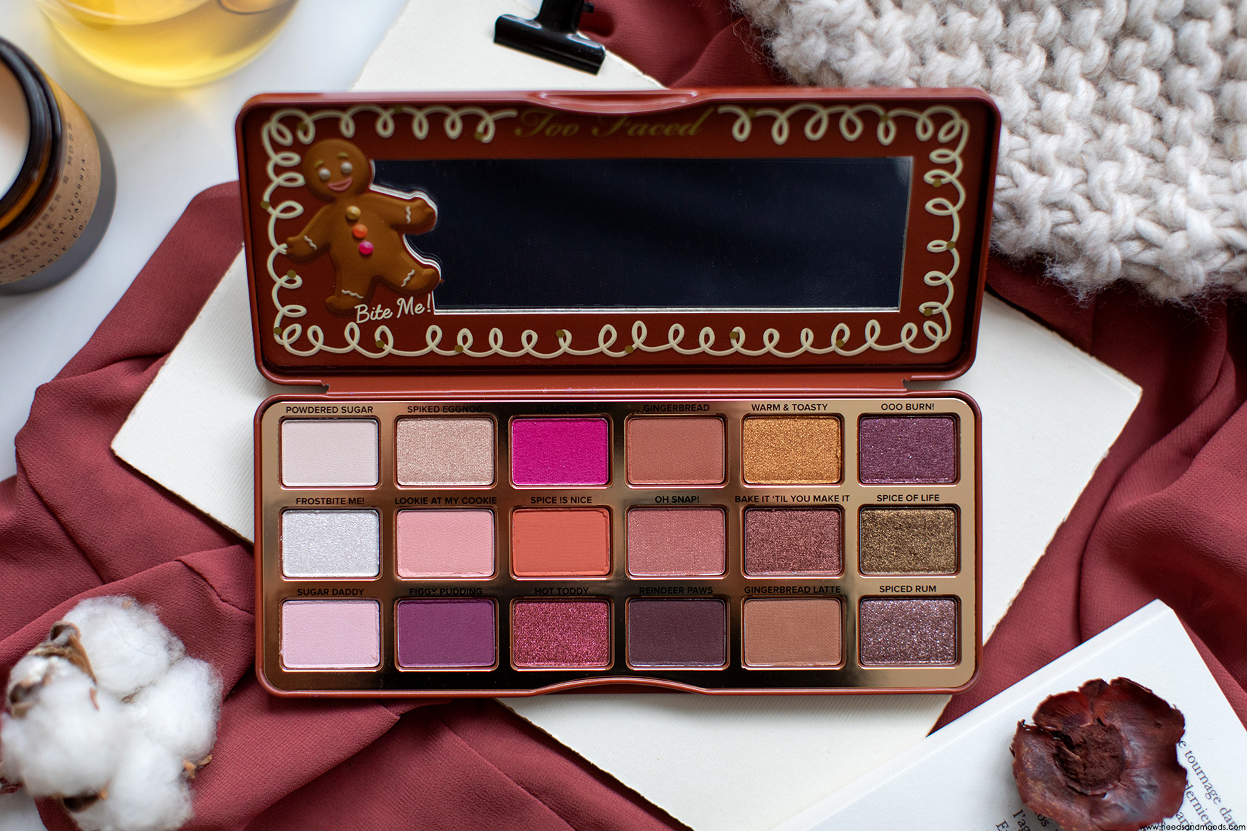 too faced gingerbread spice avis