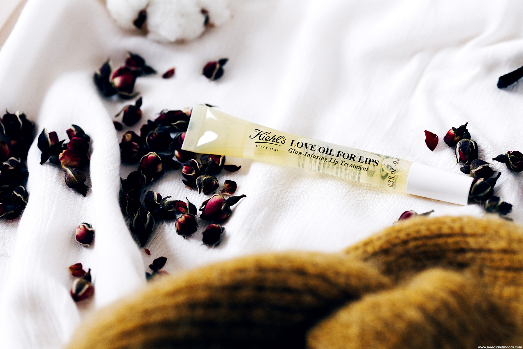 kiehls huile levres love oil for lips