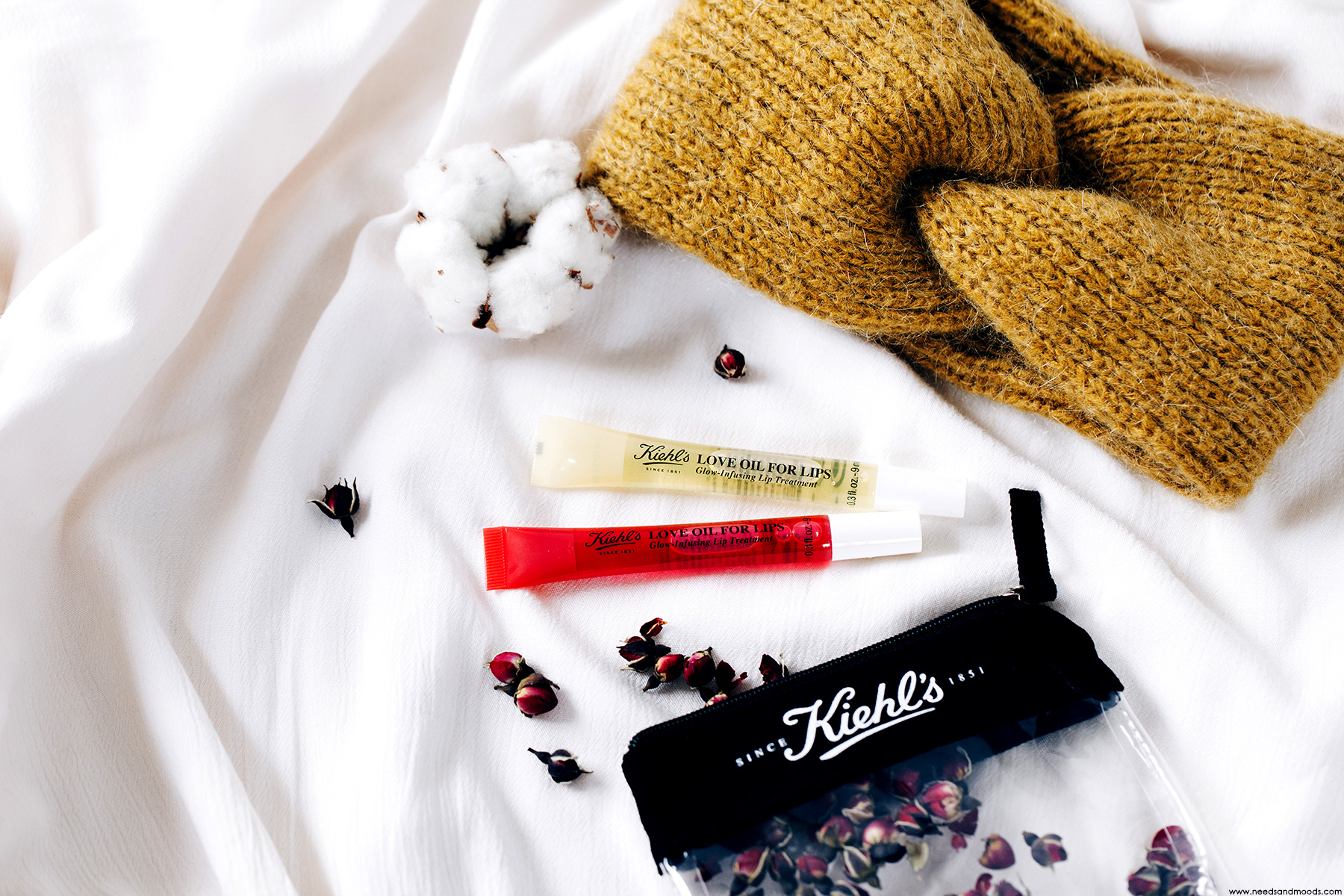 kiehls love oil for lips composition test avis