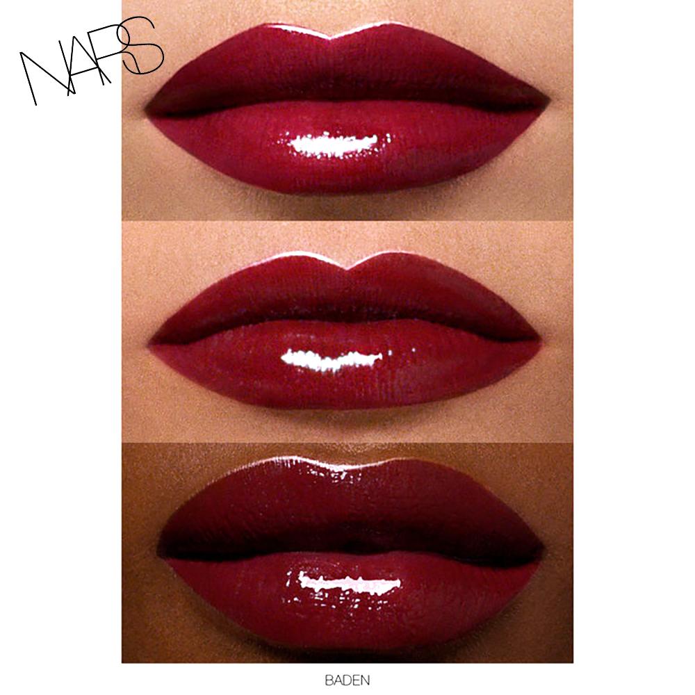 NARS Full Vinyl Lip lacquer baden swatch