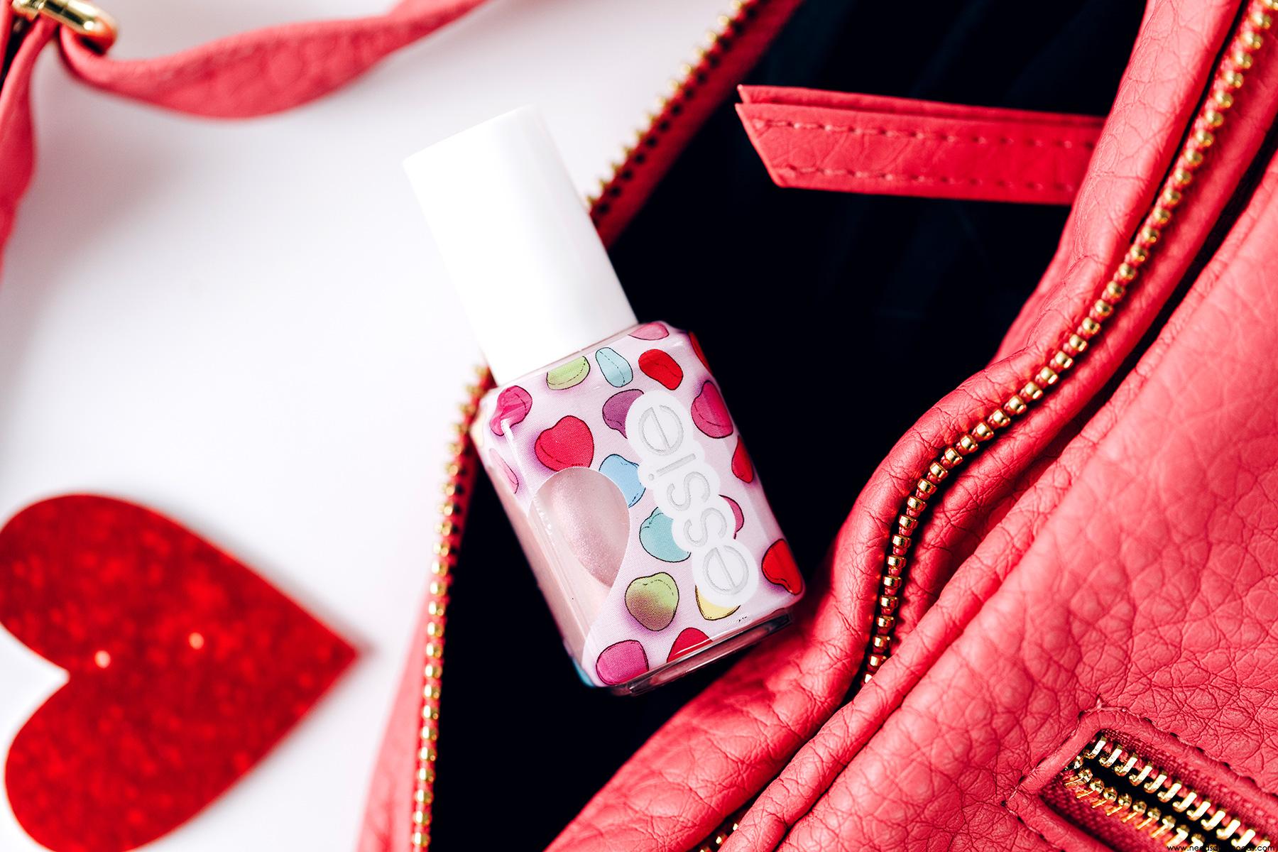 essie crush blush vernis