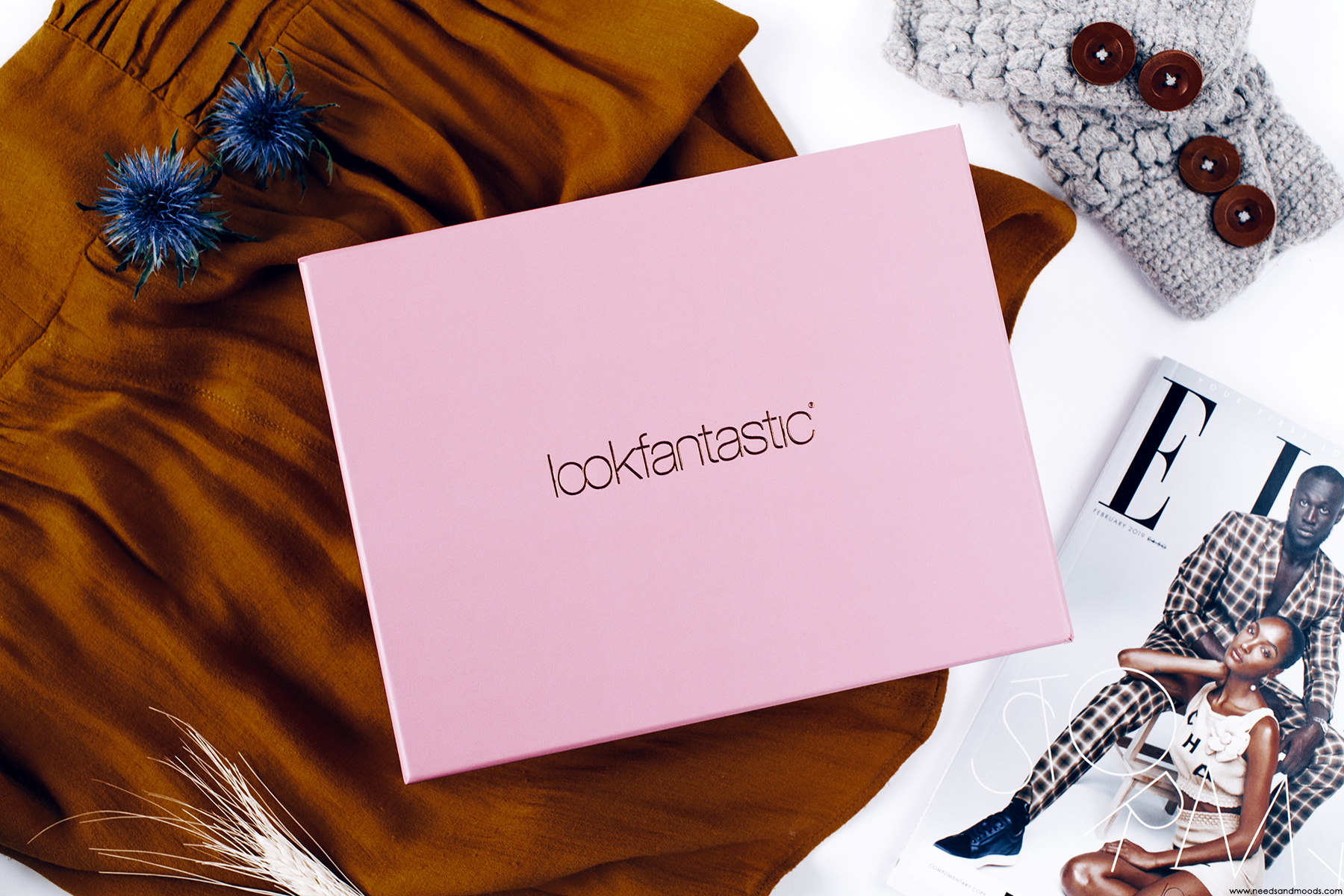 lookfantastic beauty box fevrier 2019