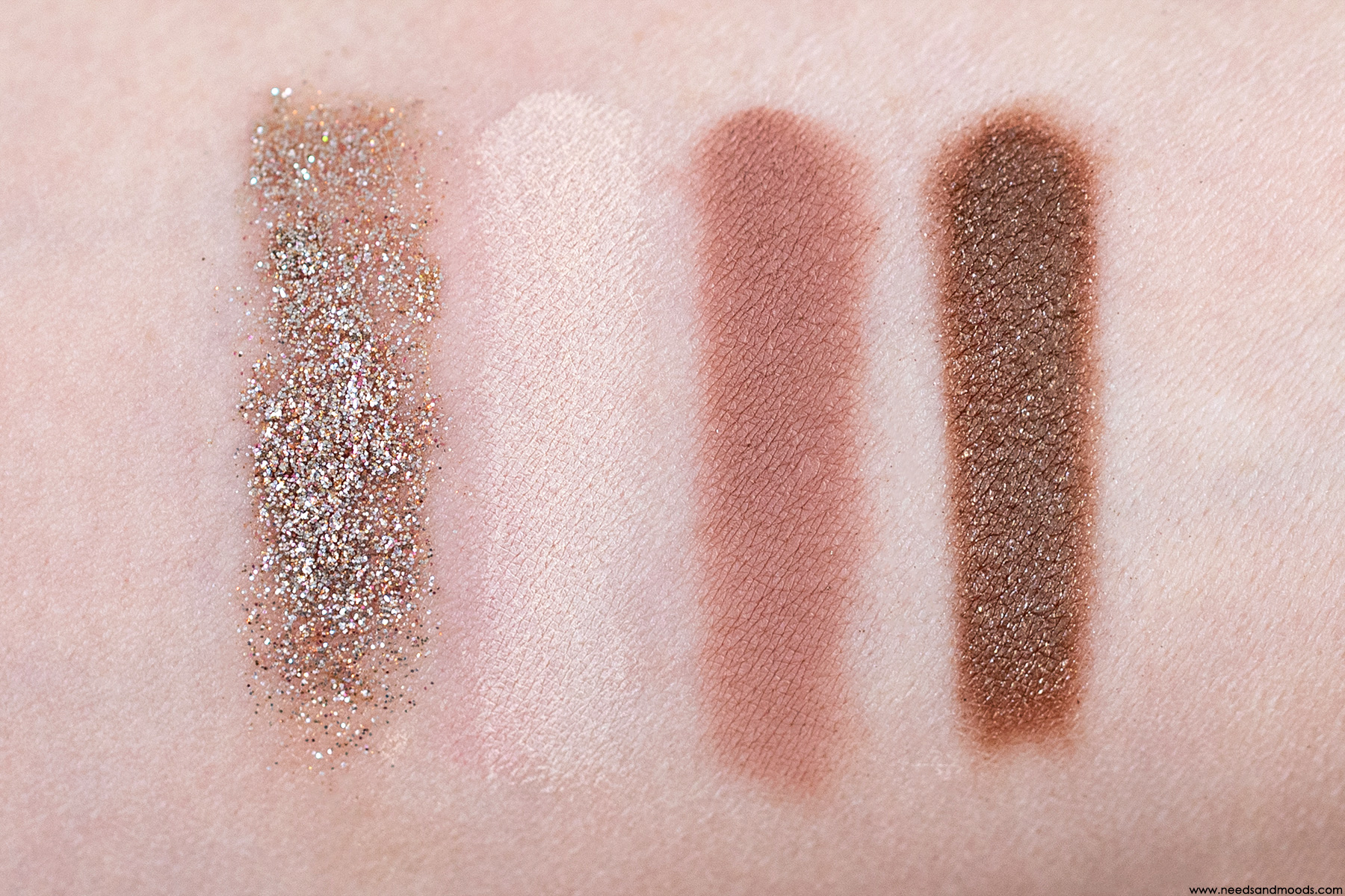 too faced pretty rich swatch