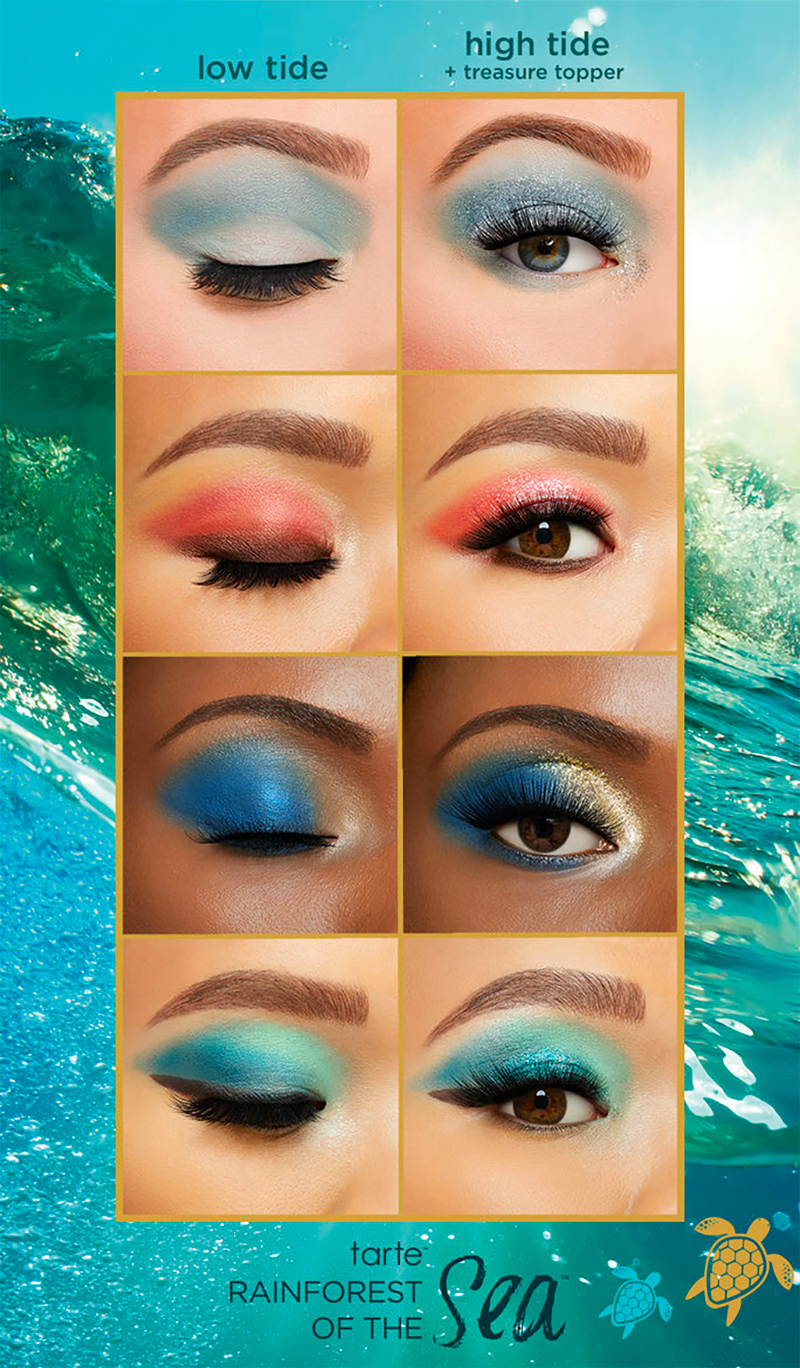 Tarte cosmetics high tides good vibes swatch