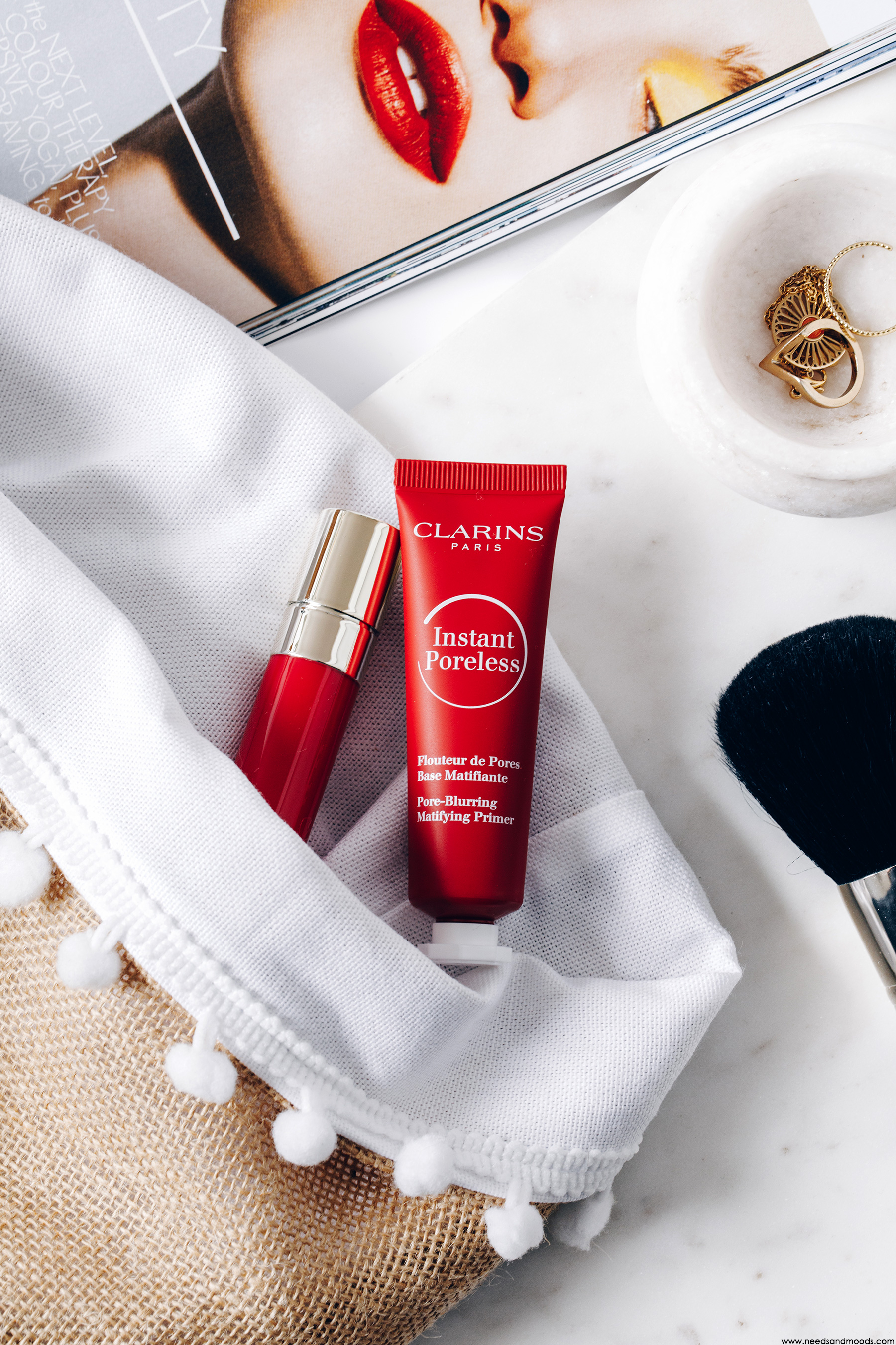clarins instant poreless avis test
