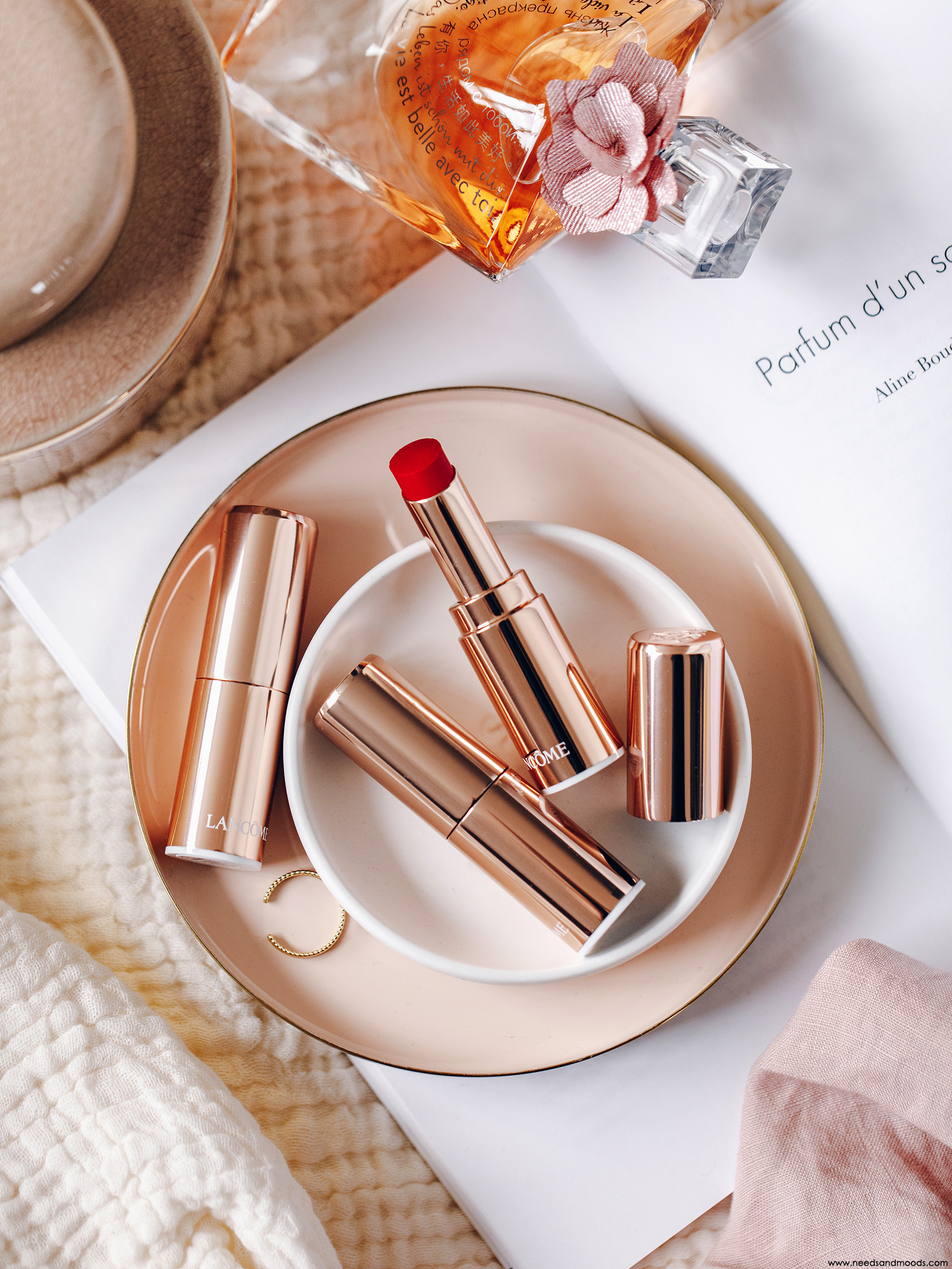 lancome absolu mademoiselle shine rouge levres