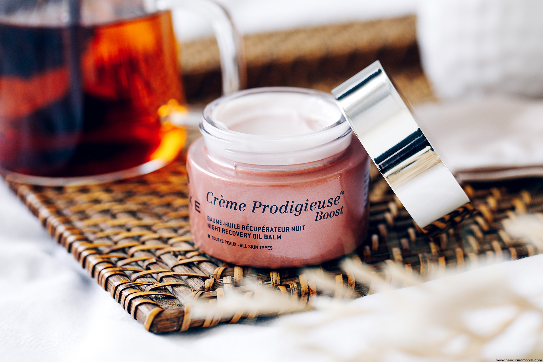 nuxe creme prodigieuse boost baume huile nuit avis