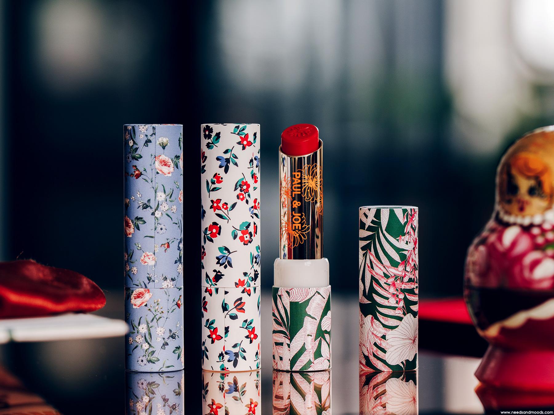 paul joe beaute lipstick case floral shoppe 2019