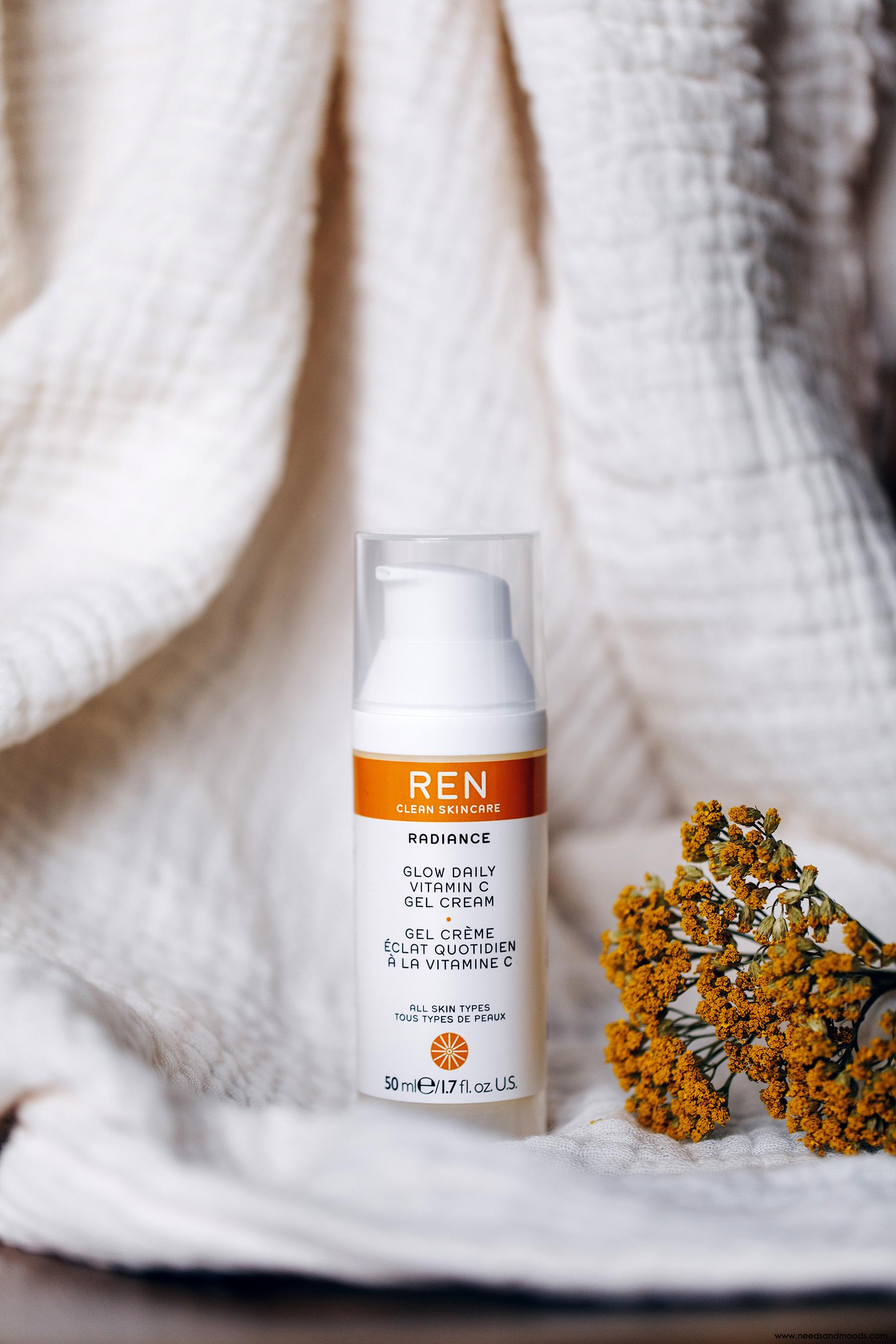 REN Glow Daily Vitamine C Gel Cream