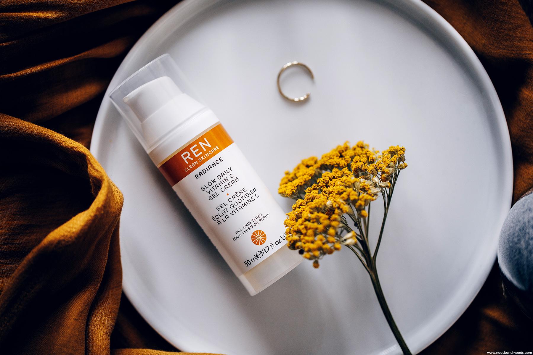 REN Skincare Glow Daily Vitamine C Gel Cream avis