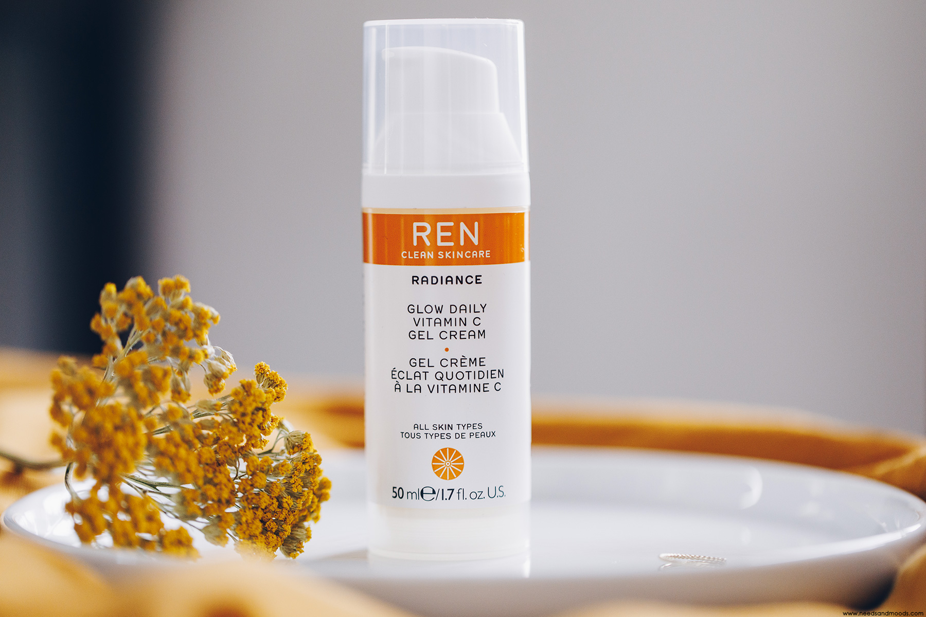 REN Skincare Glow Daily Vitamine C Gel Cream
