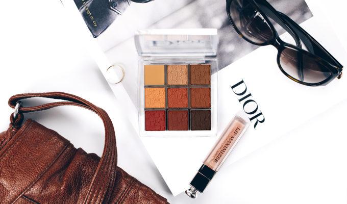 dior backstage eye palette amber neutrals