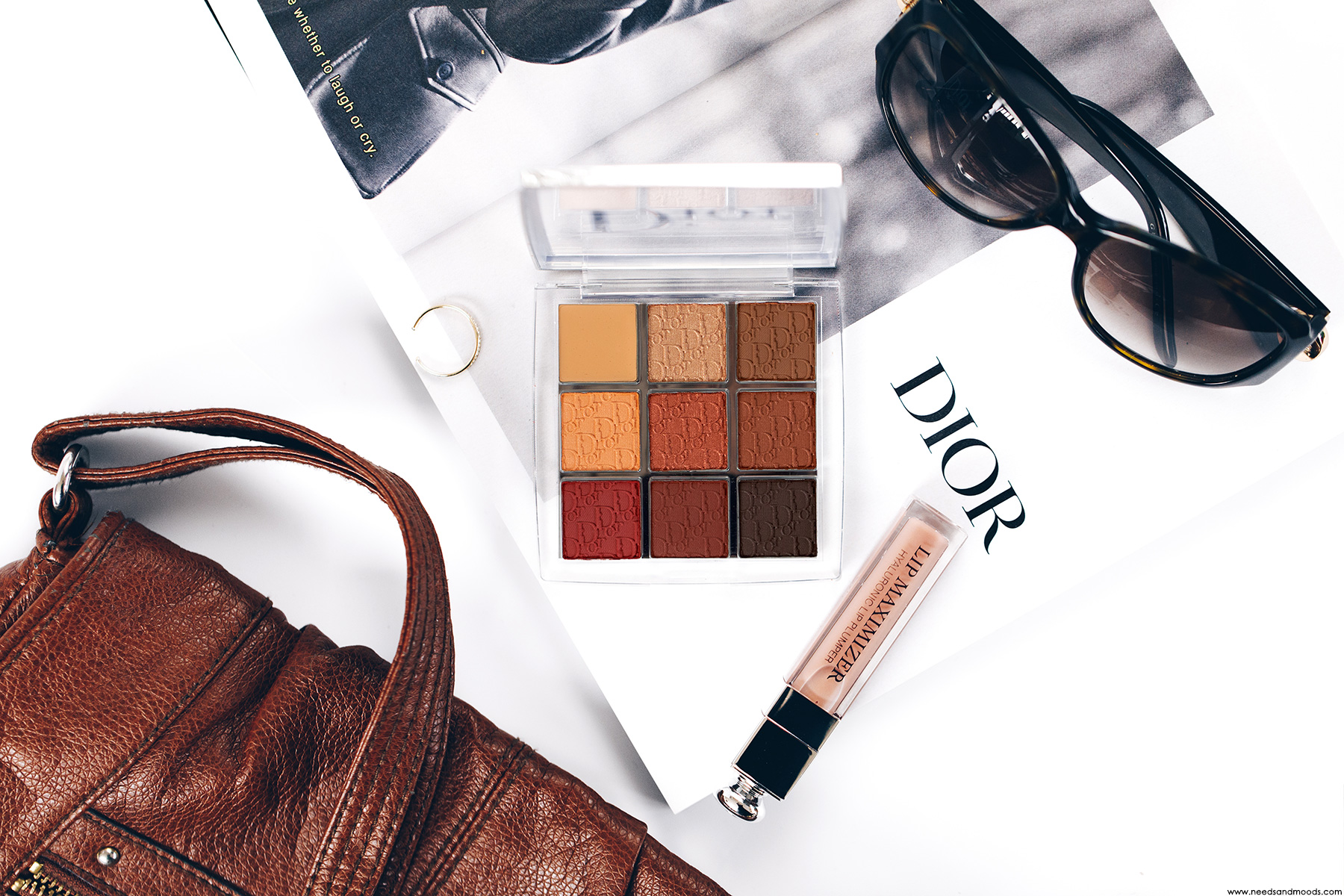 dior backstage eye palette amber neutrals