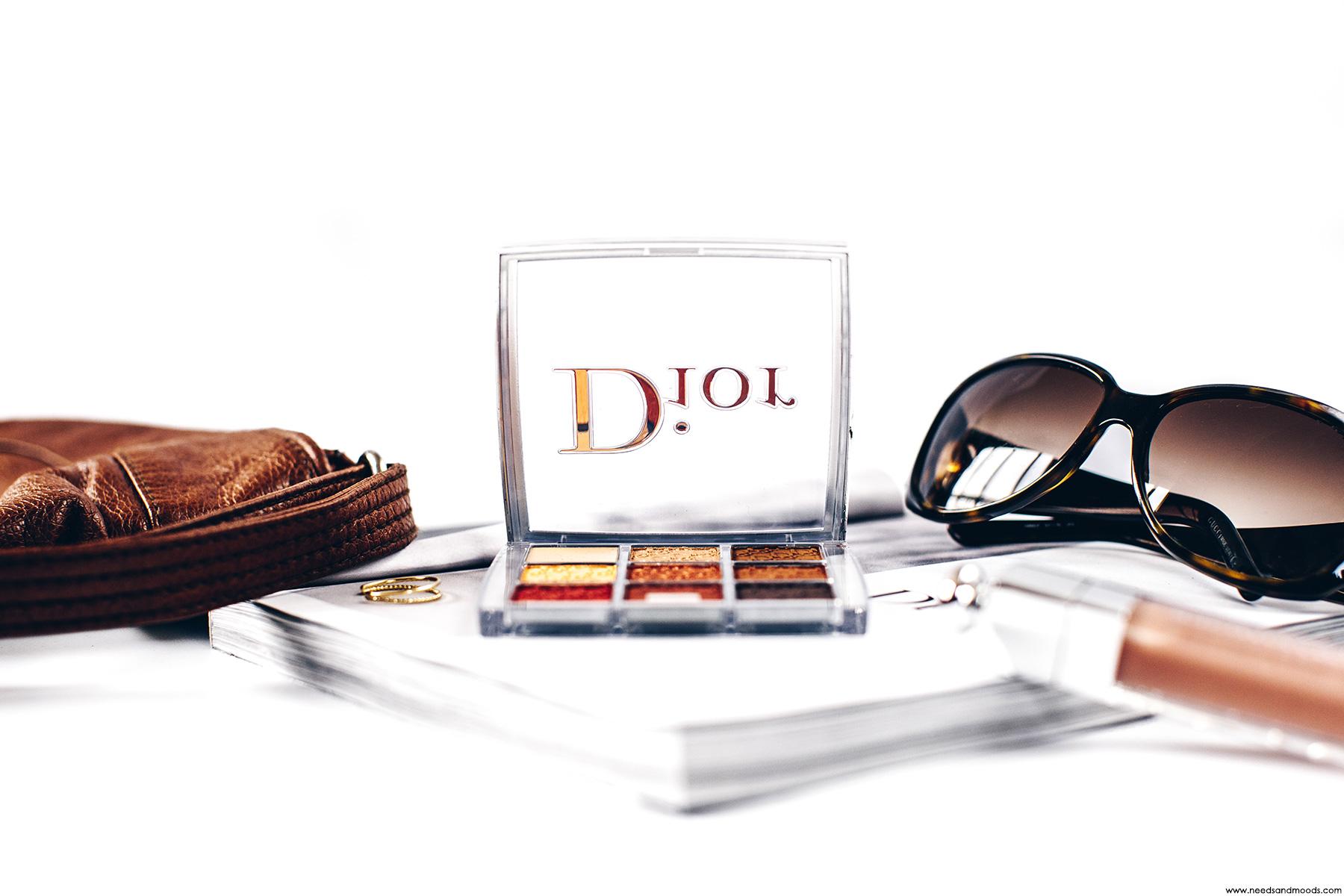 Dior Backstage Eye Palette Amber Neutrals Mon Avis