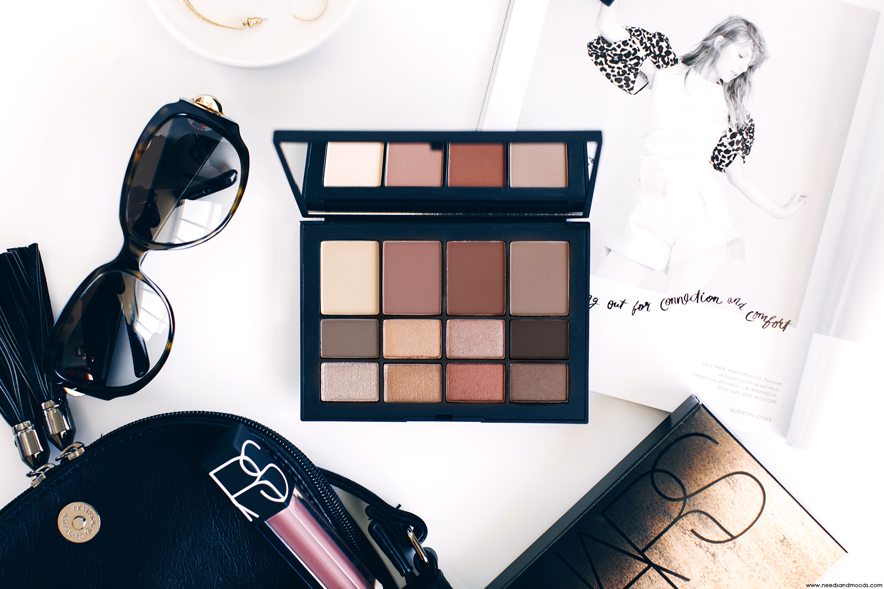 NARS Skin Deep Eye Palette test avis