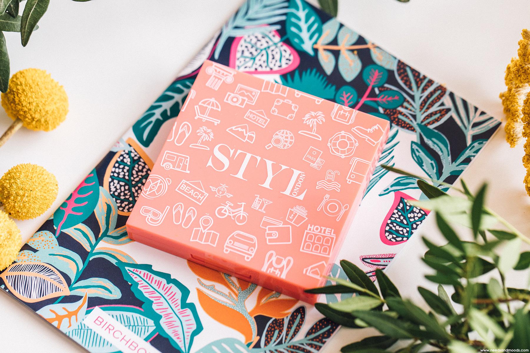 birchbox juin 2019 palette