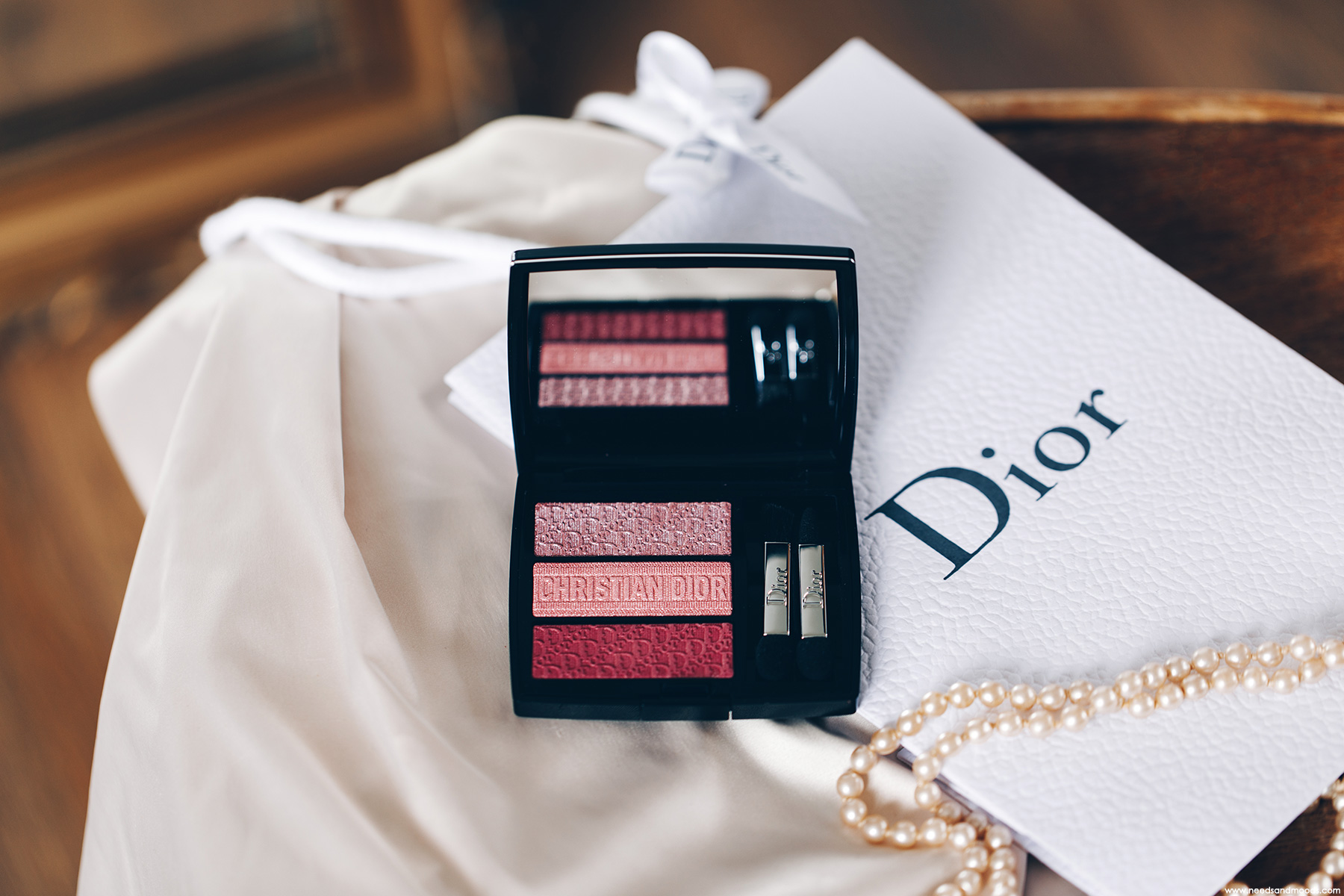 dior 3 couleurs tri o blique palette rosy canvas