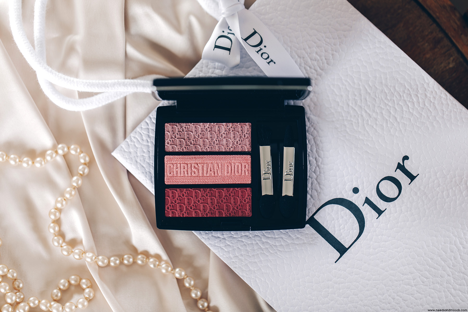 dior 3 couleurs tri o blique rosy canvas
