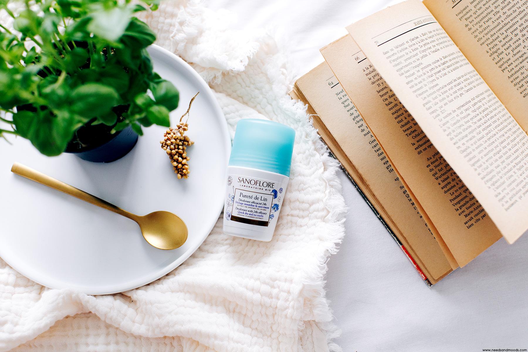 sanoflore deodorant purete de lin avis