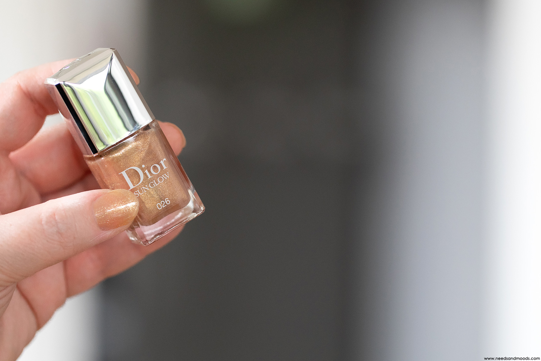 dior vernis ongles sun glow swatch