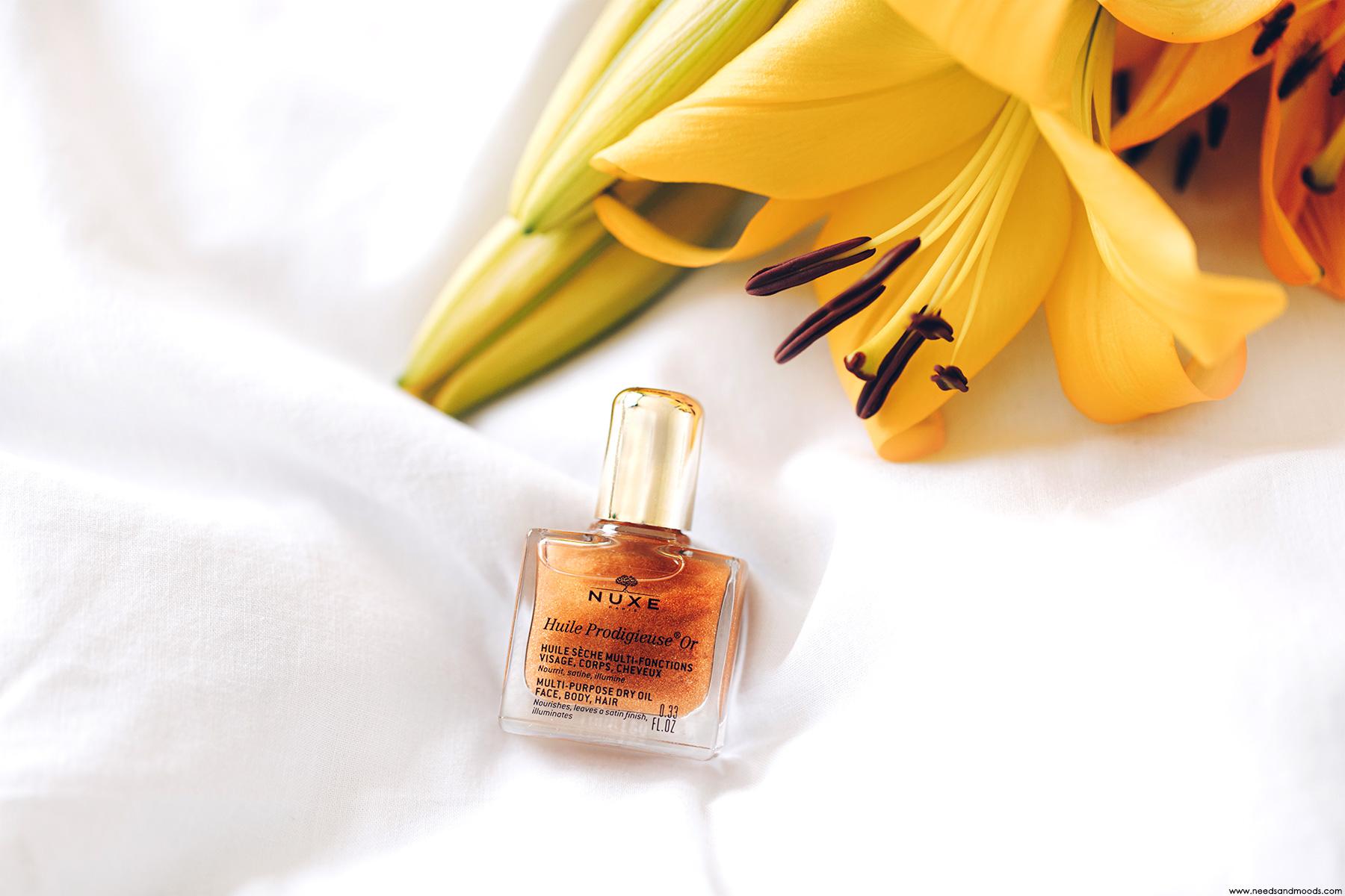nuxe box beaute huile prodigieuse