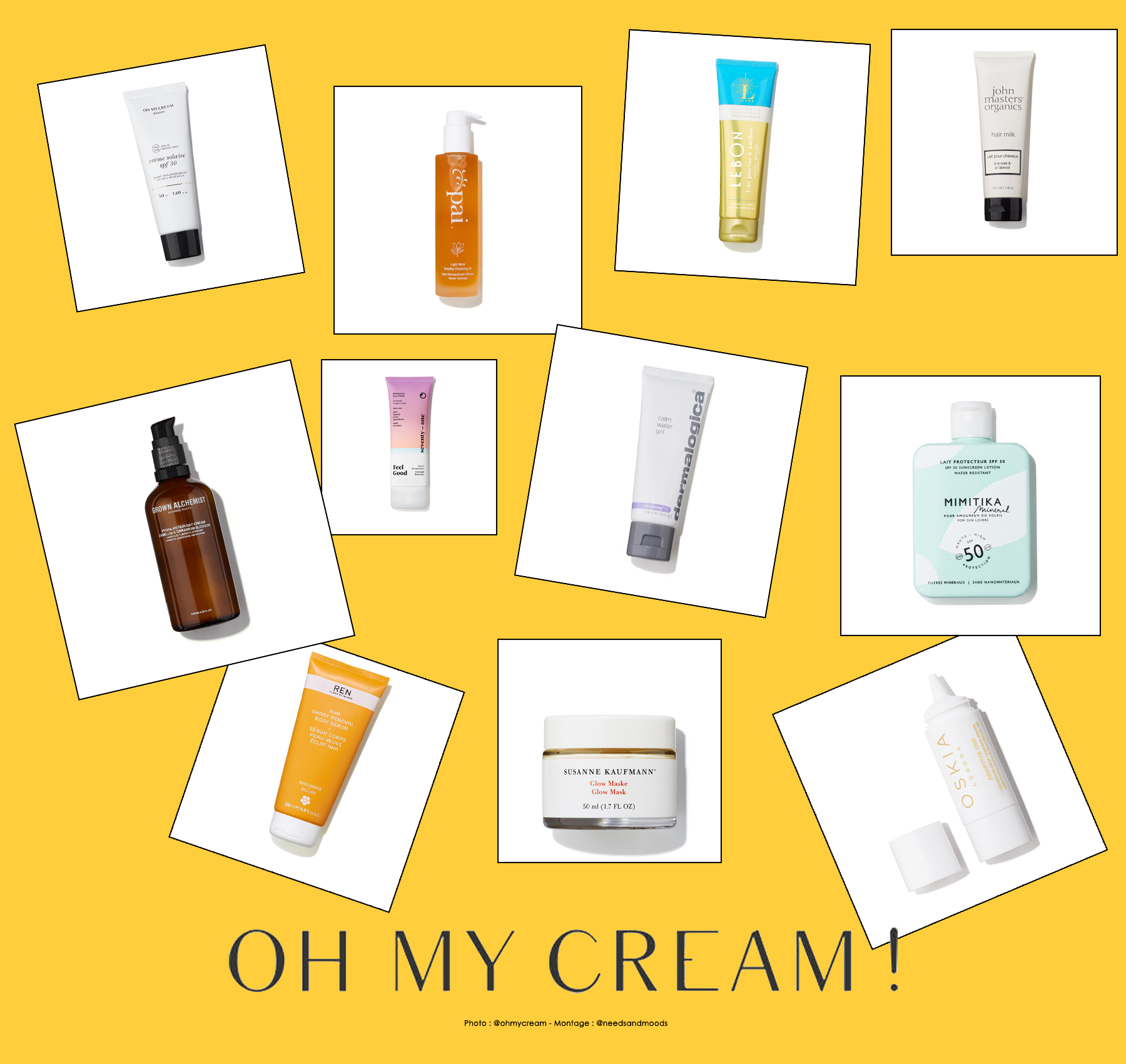 oh my cream goodie bag 2019 contenu