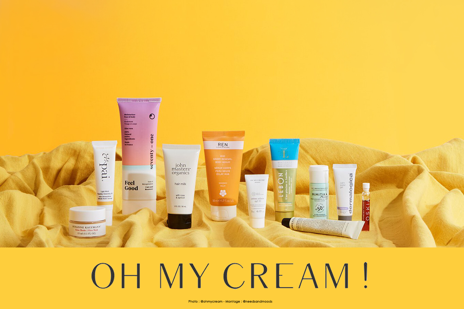 oh my cream goodie bag juin 2019